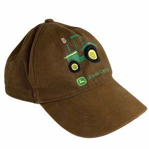 John Deere toddler cap tractor youth childrens hat